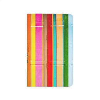 Colourful garage doors journal