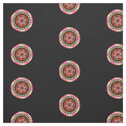 Colourful Geo' Fabric
