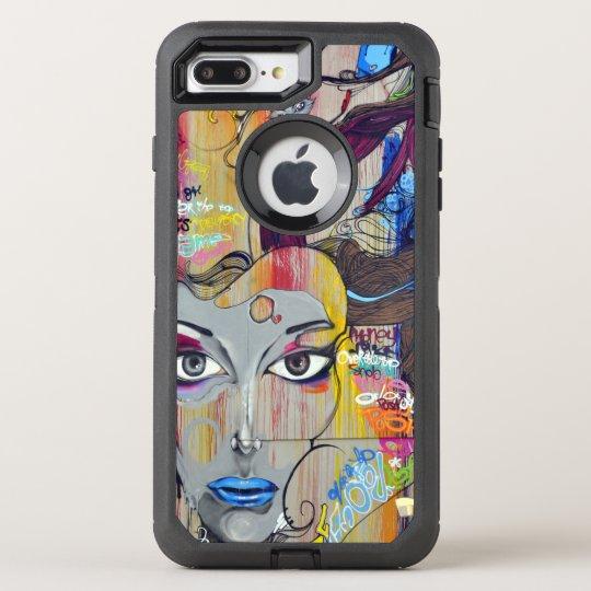 Colourful Graffiti Street Art OtterBox Defender iPhone 7 Plus Case