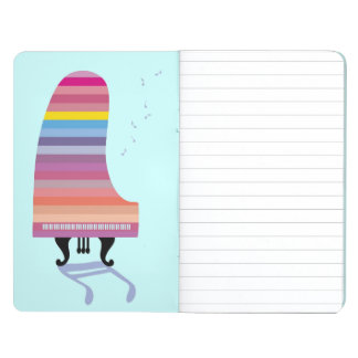 Colourful Grand Piano Journal