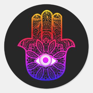 Colourful Hamsa Sticker