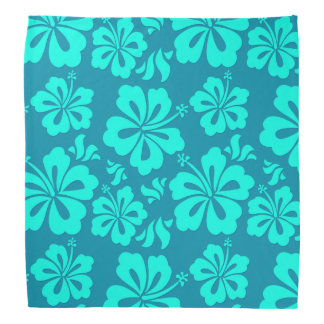 colourful Hawaiian bandana