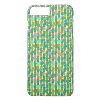Colourful Hawaiian Pineapple iPhone 8 Plus/7 Plus Case