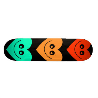 Colourful Heart Skateboard Decks