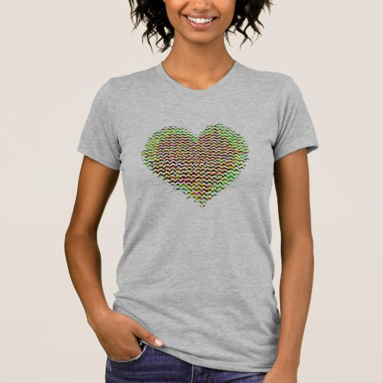 colourful hearts love valentine's day gift-idea T-Shirt