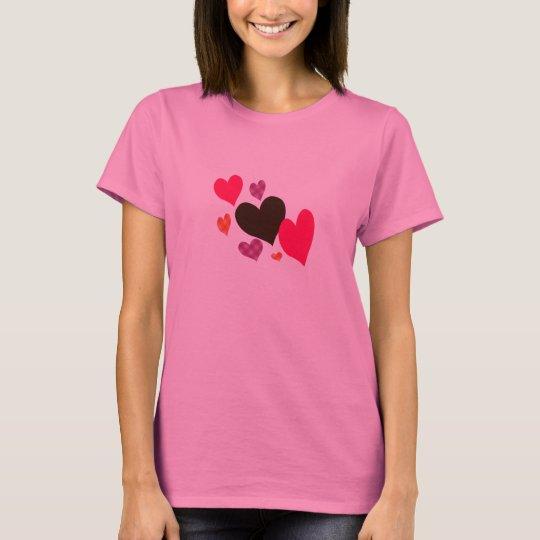 Colourful Hearts Shirt