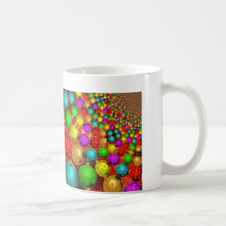 Colourful Holiday Christmas Tree Ornaments Gold Mugs