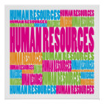 Colourful Human Resources Posters