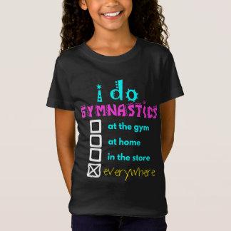 Colourful - I Do Gymnastics Everywhere T-Shirt