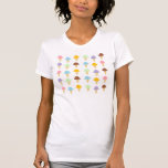 Colourful Ice Cream Cones Shirt