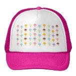 Colourful Ice Cream Cones Trucker Hat