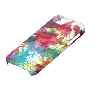 Colourful iphone case Paint Splatter