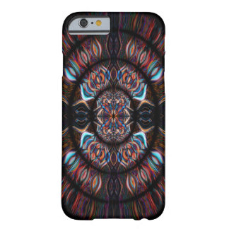 Colourful kaleidoscope pattern barely there iPhone 6 case