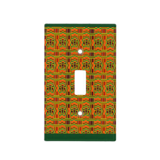Colourful Kente Switch Cover