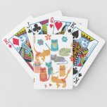 Colourful Kitty Cats Print Gifts for Cat Lovers Bicycle Poker Cards
