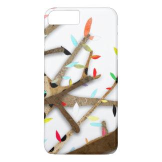 Colourful Leafs Cedar Wood iPhone 8 Plus/7 Plus Case