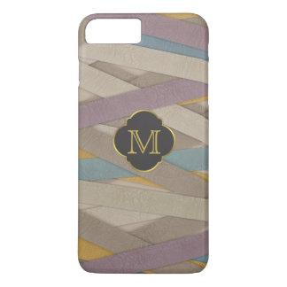 Colourful leather stripes iPhone 8 plus/7 plus case