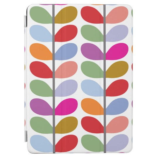 Colourful Leaves - Blue Purple Red Green iPad Air Cover