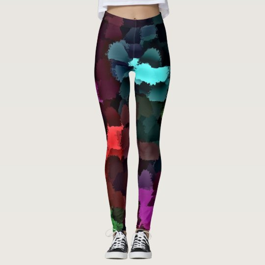 colourful Leggings modern trendy pattern elegant