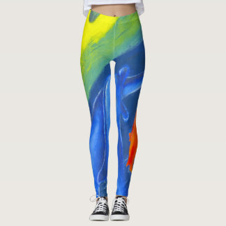 Colourful leggings to brighten up any day.