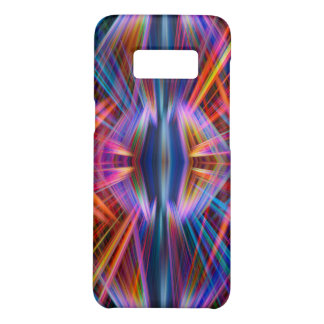 Colourful light beams pattern Case-Mate samsung galaxy s8 case