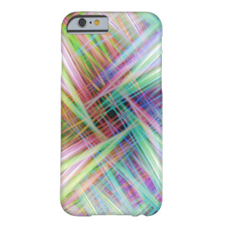 Colourful light trails pattern barely there iPhone 6 case