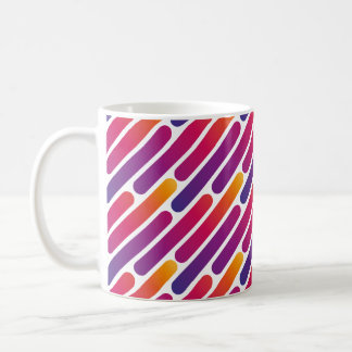 Colourful Line Pattern Mug