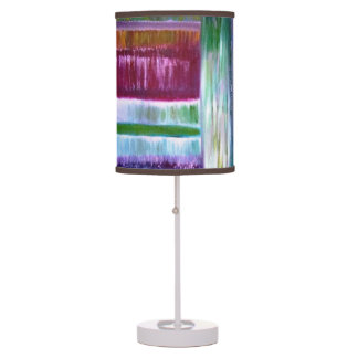 Colourful Lines Table Lamp