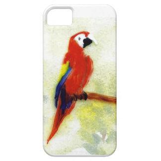 Colourful Macaw Bird Art iPhone 5 Covers