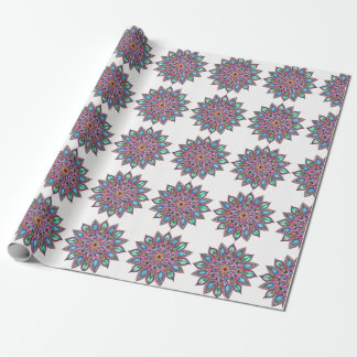 Colourful Mandala Wrapping Paper