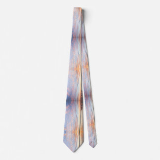 """Colourful mens tie """"Sunset sky"""""""
