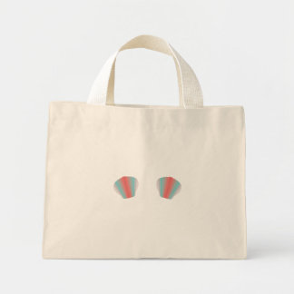 Colourful Mermaid Bikini Mini Tote Bag