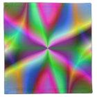 Colourful Metallic Fractal Lustre Napkin