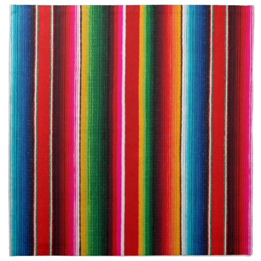 Colourful Mexican Style Printed Napkins