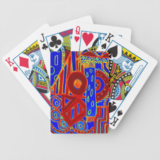 Colourful modern flurescent designed products bicycle playing cards