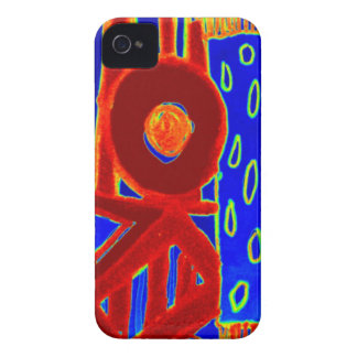 Colourful modern flurescent designed products Case-Mate iPhone 4 case