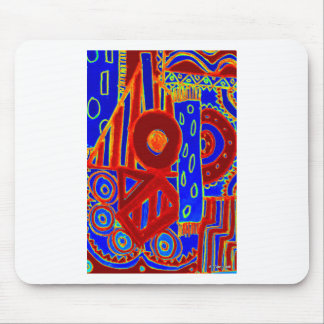 Colourful modern flurescent designed products mouse pad