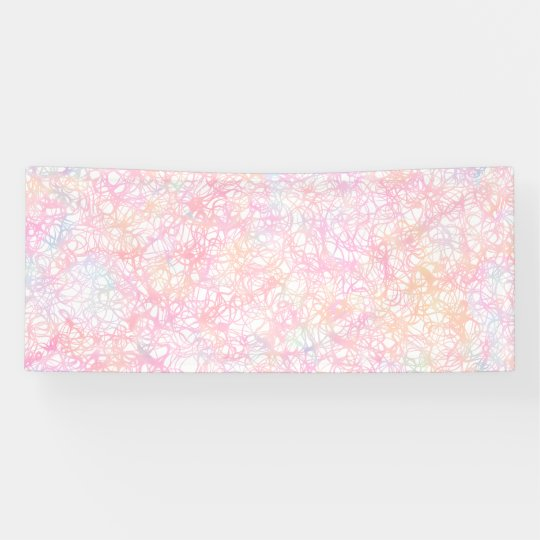 Colourful Modern Strings - Pearl Pastel Banner