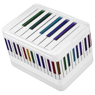 Colourful Music  Piano Keyboard