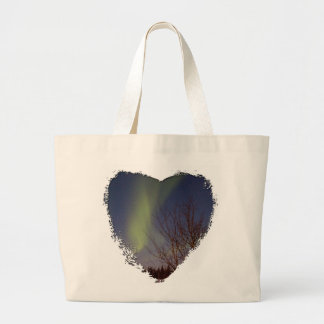 Colourful Northern Sky Large Tote Bag