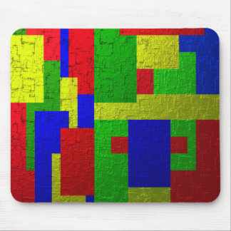 Colourful one mouse pad