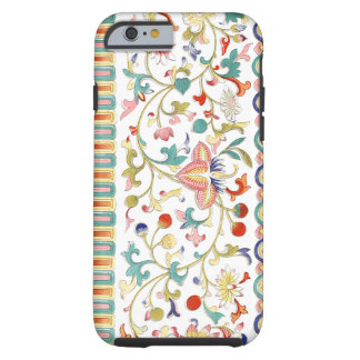 Colourful Oriental Design And Textures Tough iPhone 6 Case
