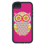 Colourful Owl iPhone 5 Cover