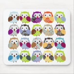 Colourful Owl Pattern