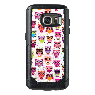 Colourful Owl Pattern For Kids 2 OtterBox Samsung Galaxy S7 Case