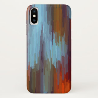 Colourful Painting Abstract Background #2 iPhone X Case
