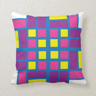 Colourful Parquet Tile Pillow