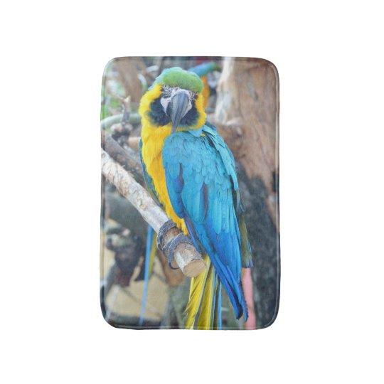 Colourful Parrot - Bath Mat