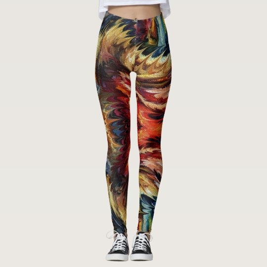 Colourful party  by rafi talby leggings