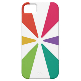 Colourful Pattern 6 Colours iPhone 5 Case